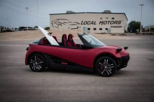 Local Motors LM3D 3D Auto Druck