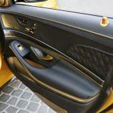 BRABUS ROCKET 900 DESERT GOLD Innenraum