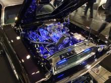 Essen Motor Show 2015 Motortuning Motorraumbeleuchtung