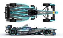 Jaguar FIA Formula E Rennwagen