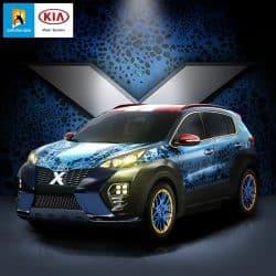 Kia Sportage Folierung X-Car