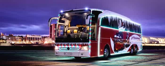Mercedes Benz Bus Weihnachts-Travego