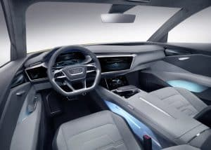 Audi h-tron quattro concept Innenraum