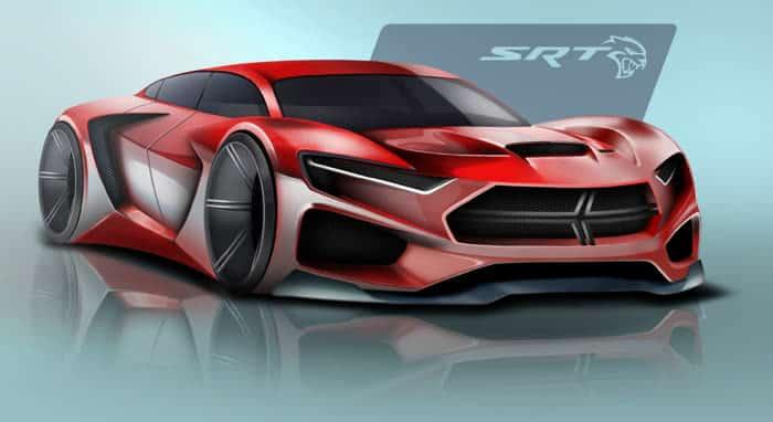 FCA Design Concept Dodge Hellcat