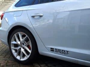 CUPRA Seat Sport Schrift Embleme