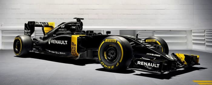Renault Formel 1 Auto F1 RE16