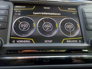 Seat Leon ST Cupra 290 DSG Armaturen