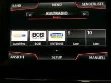 Seat Mediasystem Senderlogos
