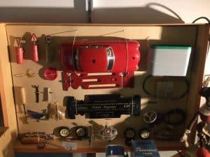 Blechspielzeug Schuco Auto
