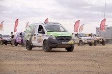 Mercedes Allrad Van