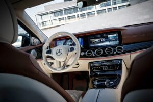 Innenraum Mercedes-Benz E Klasse E220d Exclusive