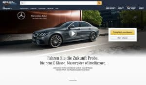 Mercedes E-Klasse Amazon
