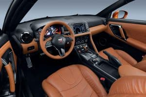 Nissan GT-R 2017 Innenraum
