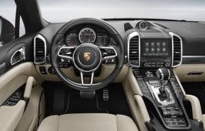 Porsche Cayenne PCM Innenraum