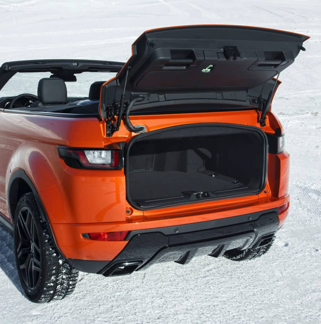 wtf range rover evoque cabrio krasses auto autodino. Black Bedroom Furniture Sets. Home Design Ideas