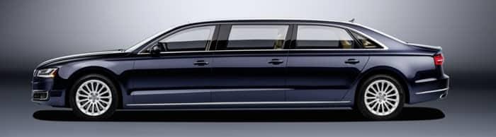 Audi A8 L extended Stretchlimousine