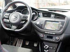 Kia Cee'd GT Track Innenraum