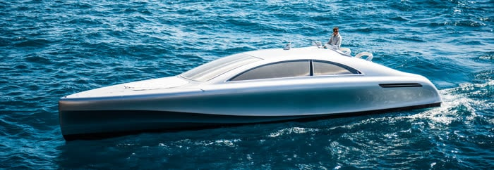 Luxus-Motoryacht Mercedes Arrow460–Granturismo