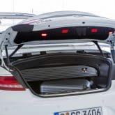 Mercedes S500 Cabriolet Kofferraum