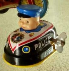 Spielzeug Polizeiauto