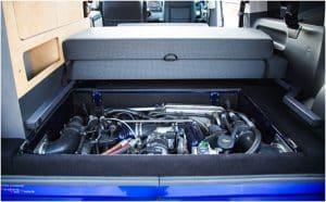 VW Bus Spacecamper TH5 Umbau