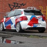 VW Polo R WRC Tuning Folierung