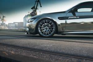 BMW Chrome Folierung