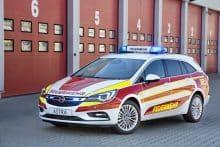 Opel Astra Sports Tourer Feuerwehr Kommandoauto