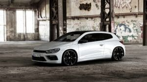 VW Scirocco R Black Style Tuning
