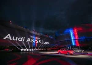 Neuer Audi A5 S5 Coupé 2016