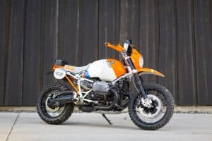 BMW Custom Bike Lac Rose r nineT