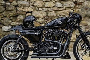 Harley Davidson Custom Bike Umbau