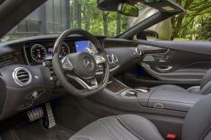 Mercedes S 63 Cabrio Tuning Innenraum