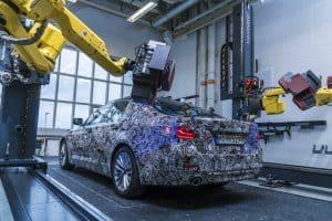 BMW Mess-Roboter