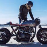 Custom Bike Yard Built XV950 Son of Time