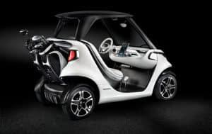 Mercedes Golf Car