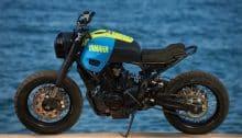 Yamaha Custom Bike XSR700 OTOKOMAE