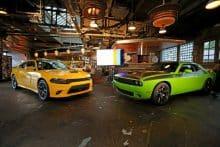 2017 Dodge Charger Daytona und Dodge Challenger T/A