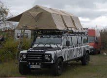 Land Rover Umbau Dachzelt