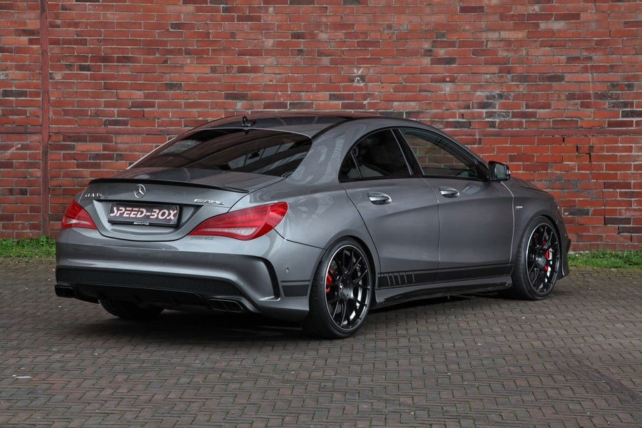 tiefflieger mercedes cla 45 amg autodino. Black Bedroom Furniture Sets. Home Design Ideas