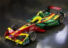 Audi ABT Schaeffler Formel E Auto