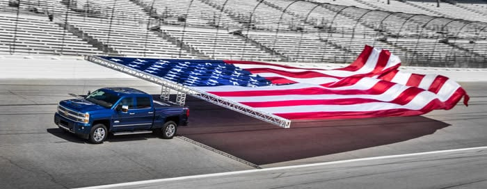 Chevrolet Silverado Guinness Weltrekord