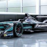 Jaguar Racing I-Type Formel E Rennwagen