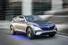 Elektro-SUV Mercedes Benz Generation EQ