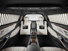 Mercedes-Maybach S 600 Pullman Guard Innenraum