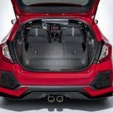 Neuer Honda Civic 2017 Kofferraum