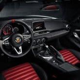 Fiat Abarth 124 Spider Innenraum