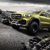 Mercedes-Benz Pickup Concept X-KlasseMercedes-Benz Pickup Concept X-Klasse