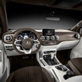 Mercedes-Benz Pickup Concept X-Klasse Innenraum