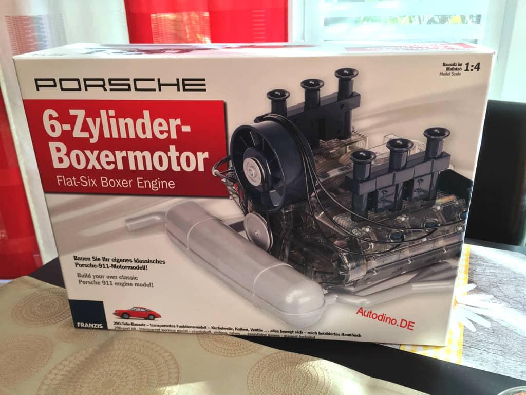 Porsche 911 Motor Bausatz